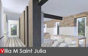 Architecte d'intérieur décoration maison Lanta
